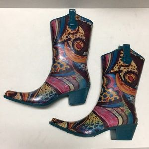 CORKYS western Pointed toe rain boots